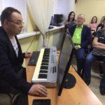 Музыка и цифровые технологии: воспитанники музыкальной школы познакомились с музыкантом-аранжировщиком