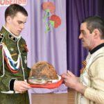 Вещи красноармейца Степана Караульных переданы в дар музею Новоселовской школы