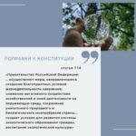 Конституция пополнится статьей об экологии