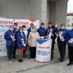 Волонтеры Конституции помогают ярковчанам голосовать безопасно