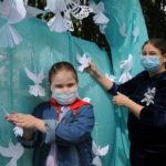 Ярковчане присоединились к всероссийской акции «Голубь мира»