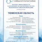Тюменская область — лидер рейтинга эффективности госзакупок