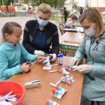 Гордо реет триколор: в Ярково отметили День флага