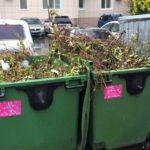 Региональный оператор напоминает: строительным отходам, веткам и шинам не место в мусорном баке