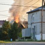 Пожар в Ярково