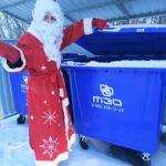 Новогодние праздники по-своему «преображают» коммунальные отходы тюменцев