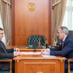 Полпред Президента в УФО Владимир Якушев провел рабочую встречу с губернатором Тюменской области Александром Моором