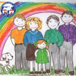 2 мая 2021 года стартует Всероссийский конкурс рисунков «Моя семья, моя Россия»