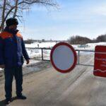 Три ледовые переправы закрыты в Ярковском районе