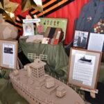 В канун Дня Победы в Ярковском ЦКД открылась выставка «Мобильный музей», посвященная 76 годовщине Победы.