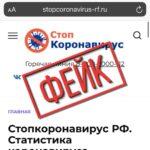 В интернете появились мошеннические сайты, дублирующие официальный портал стопкоронавирус.рф.