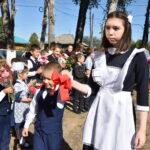1 сентября в Новоселовской школе